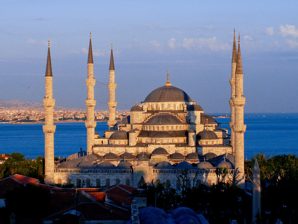 1280px The Blue Mosque at sunset 1024x768 - Roteiros