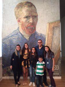 Van Gogh museu com guia privativo em português.